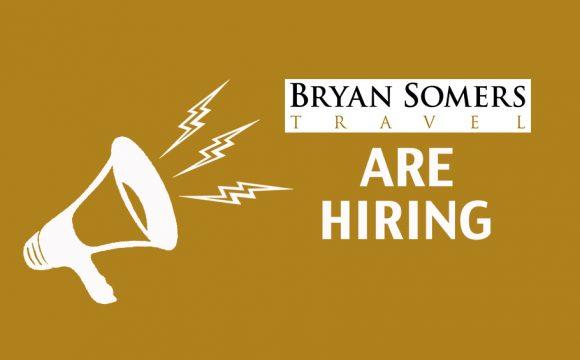 Bryan Somers Travel Are Hiring