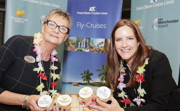 Cruise Line's First Ever Flight Manchester-Mauritius with Thomas Cook Airlines