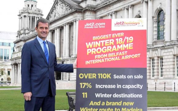 Jet2.com and Jet2holidays announce BIGGEST ever winter programme from BIA