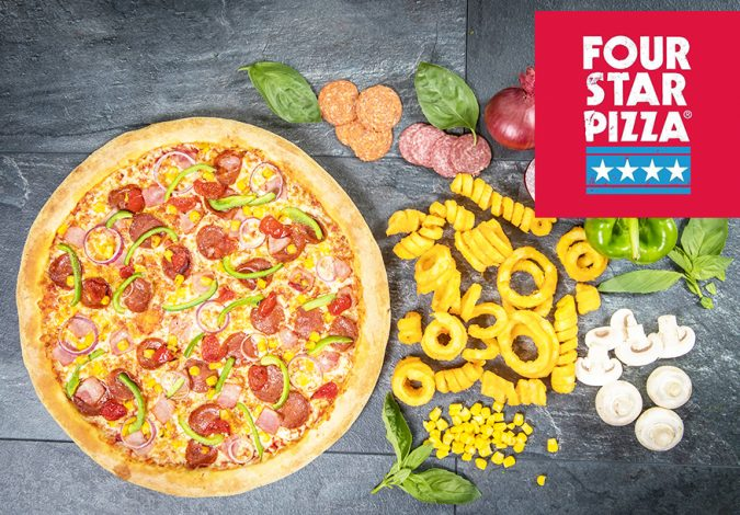 Win Free Pizza for a Year with Four Star Pizza