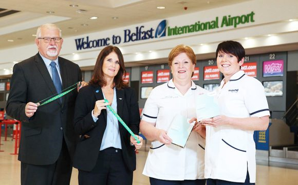 Belfast International Airport Security Staff Receive Stoma Training
