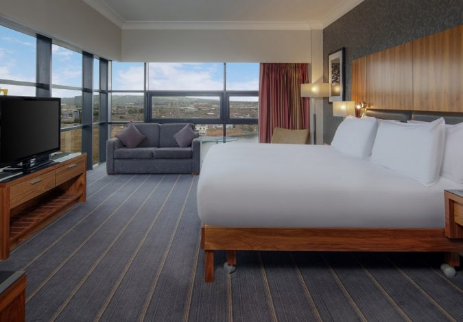 Win an Overnight Stay in LUXURY Hilton Hotel Belfast Suite