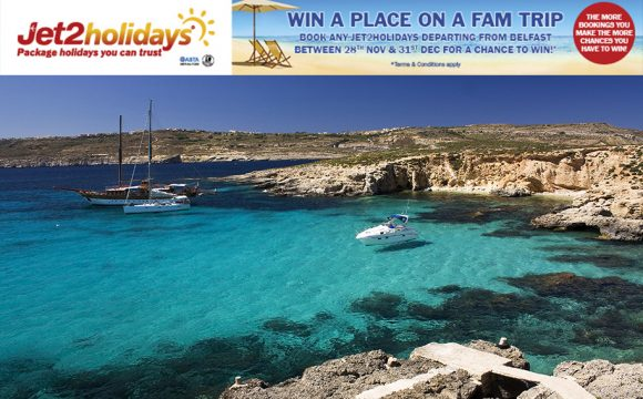 Win a Place on a Jet2holidays Fam Trip