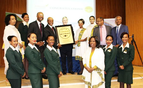 'Milestone' Award in History of Ethiopian Airlines