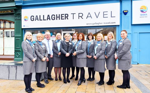 Opening of new Flagship Store for Gallagher Travel