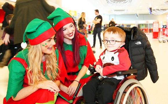 Charity Flight on Mission to Find Father Christmas