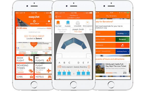 EasyJet and Travelport Digital Jet off with Two Design Experience Wins