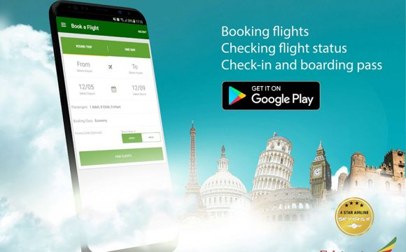 Ethiopian Launch New Booking App