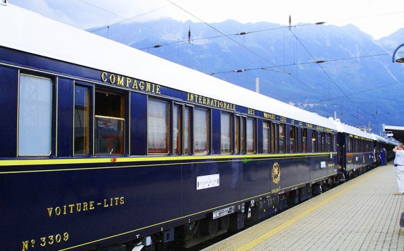 Putting on the Style on the Orient Express