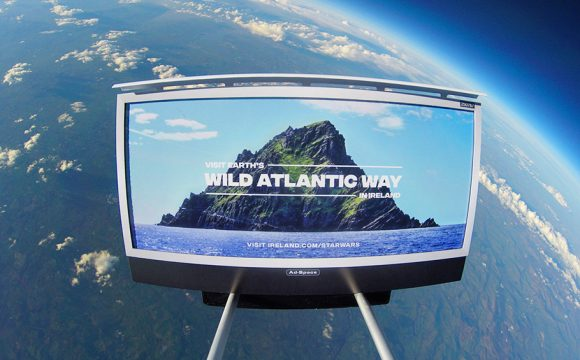 Tourism Ireland Launches First Ever Tourism Campaign in Space