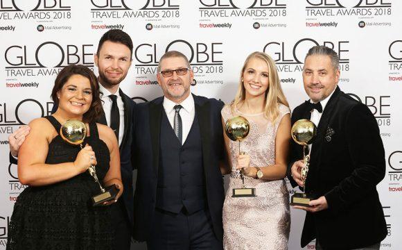 Quadruple Success forJet2.comandJet2holidaysat the Globe Awards