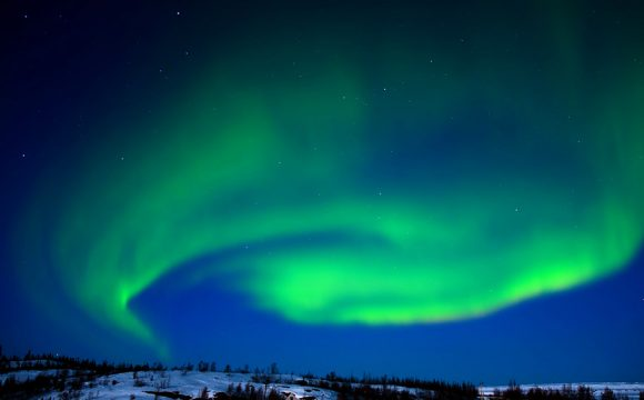 See the Northern Lights from Above the Clouds