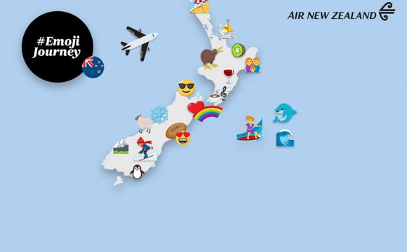 Air New Zealand Launches Emoji Travel Tips