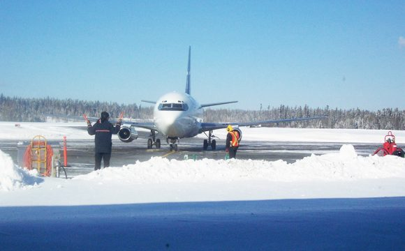 Airport Runway Re-opens After 'Blizzard Conditions'