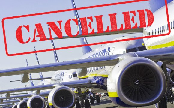 Ryanair Cancels All Flights To and From Dublin Airport