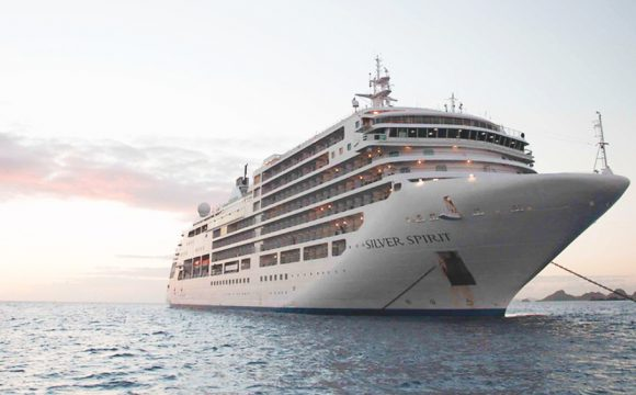 Silver Spirit Gets Refurbishment for New Mid Section