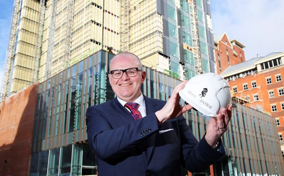 Stephen Meldrum Appointed General Manager of the Grand Central Hotel