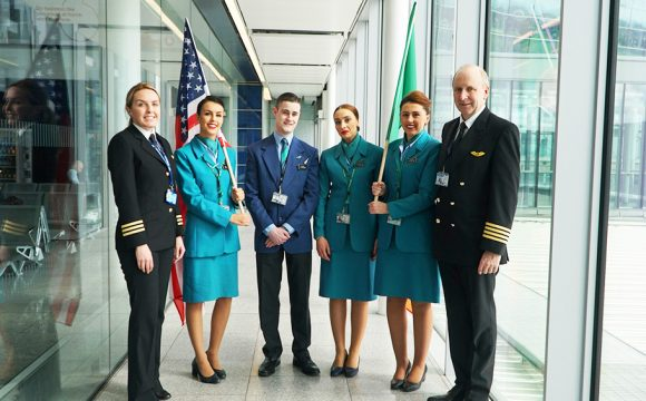 Inaugural Flight to Philly Takes Off from Dublin