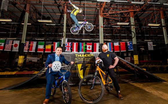 New Urban Sports Centre Ramps Up for Thunderous Launch
