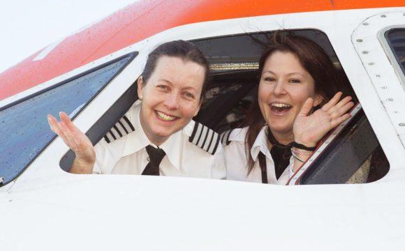 EasyJet Celebrates Female Pilot Record for International Women's Day