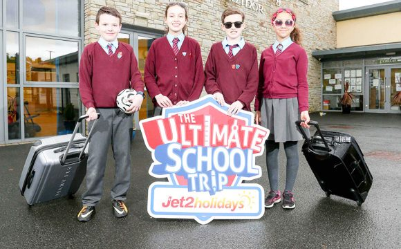 Pupils from St Patrick's Primary School are Heading on the Ultimate School Trip to Majorca