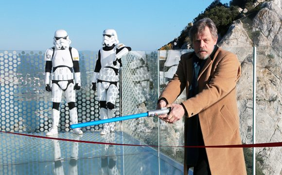 The Force is Strong with Gibraltar's Skywalk