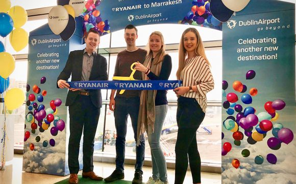 New Twice Weekly Dublin to Marrakesh Service