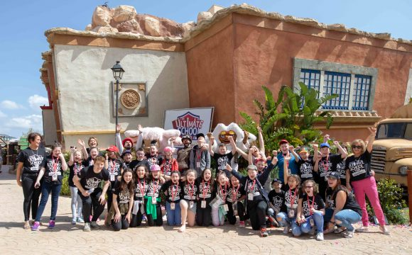 County Tyrone Schoolchildren Have a Corker in Majorca