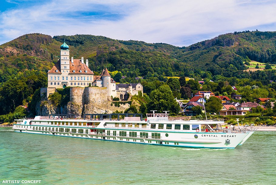 Crystal River Cruises Tops Luxury, Dining and Stateroom ...