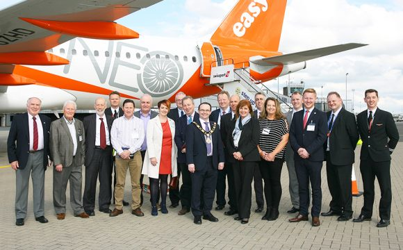 EasyJet Showcases its Revolutionary New Aircraft in Belfast