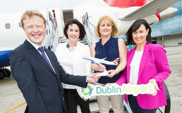 New Dublin-Manchester BA Service Launched