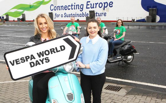 On Your Scooter with Stena Line and Vespa World Days!