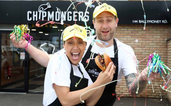 Ballymena Celebrates National Burger Day with Chipmongers Announcement!