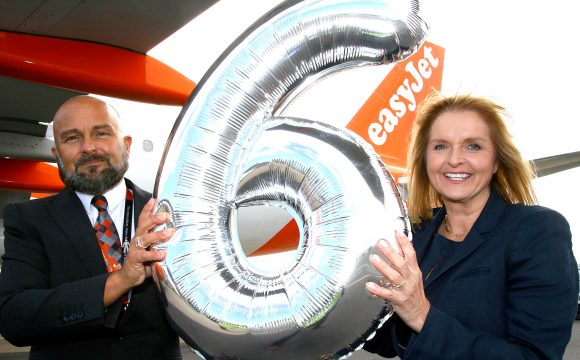 Sixth easyJet Aircraft Arrives in Belfast, and Four New Routes Launch
