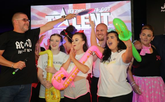 Jet2holidays' Got Talent – The Party to Top All Parties!