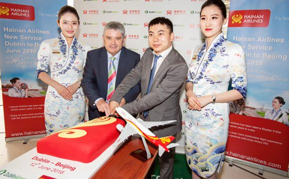 Dublin Airport Welcomes First Direct Flight To Beijing