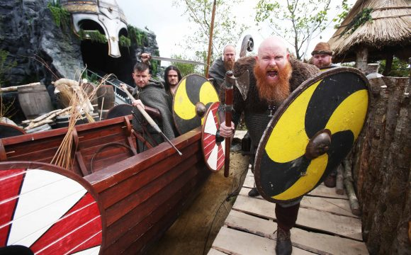 All Set for a Viking Weekend at Tayto Park