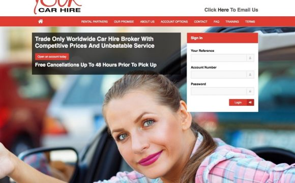 Your Car Hire Launches Brand New Website