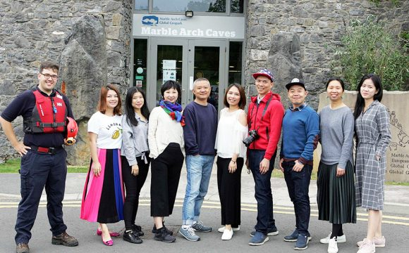 Chinese Travel Writers Visit Northern Ireland
