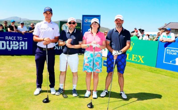 Emirates Host Golf Fans at Irish Open