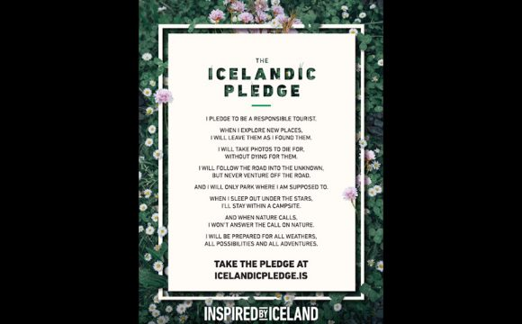 Iceland Invites Visitors to Take 'The Icelandic Pledge'