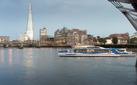 River Transport Booms as London Sizzles in Heat Wave