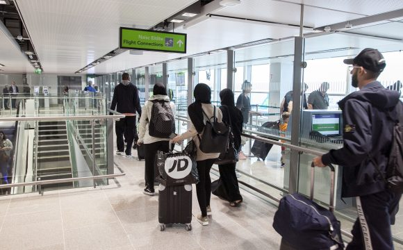 Dublin Airport Opens New Transfer Facility