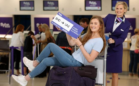Flybe Offers Double Bonus for Students on the Move