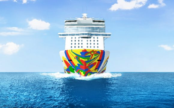 Norwegian Encore Hull Artwork Unveiled
