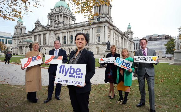 Flybe Celebrates 35 Years Flying from NI