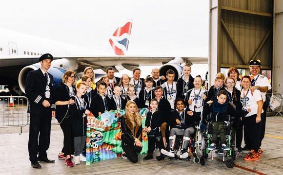 British Airways Dreamflight Takes Off with Una Healy