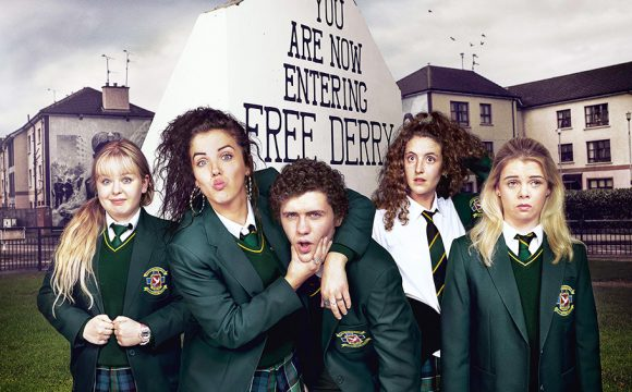 Derry Girls' Stars Big Draw at Travel and Tourism Awards