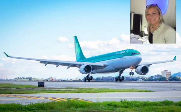 Liza Hammond Joins Aer Lingus!