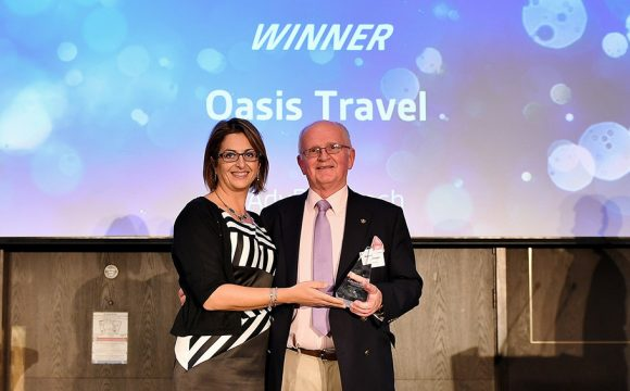 Advantage Marketing Excellence Award for Oasis Travel